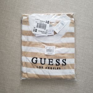 NWT Guess Long Sleeve Striped Tee